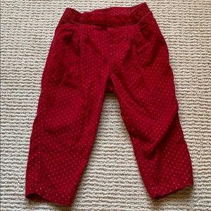 Cute gap corduroy pants.